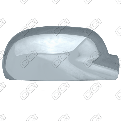 Chevrolet Trailblazer  2002-2009, Full Chrome Mirror Covers