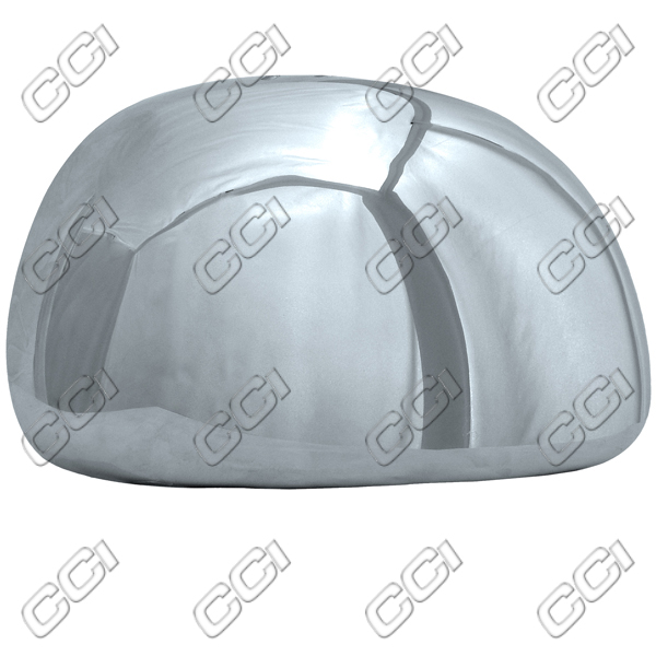 Ford F150  1997-2003, Half Chrome Mirror Covers