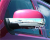 Chevrolet Suburban  2007-2013, Half-Bottom Chrome Mirror Covers