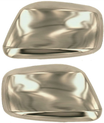 Nissan Frontier  2005-2013, Full Chrome Mirror Covers