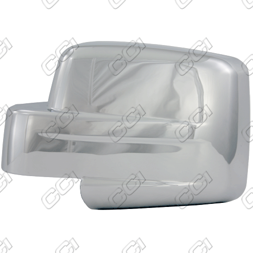 Jeep Liberty 2007-2011 Chrome Mirror Covers  (full)