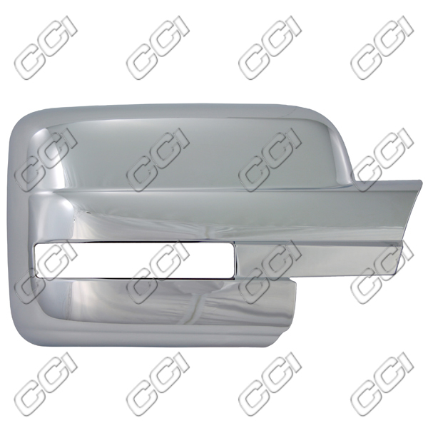 Ford F150  2009-2013, Full Chrome Mirror Covers