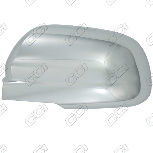 Chevrolet Aveo 2004-2011 Chrome Mirror Covers Sedan (full)