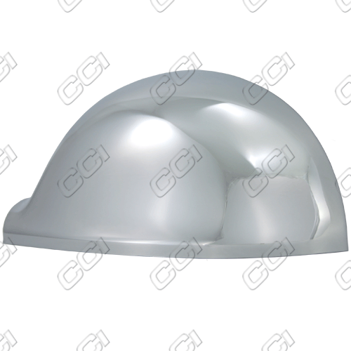 Volkswagen Golf 2007-2010 Chrome Mirror Covers Rabbit (full)