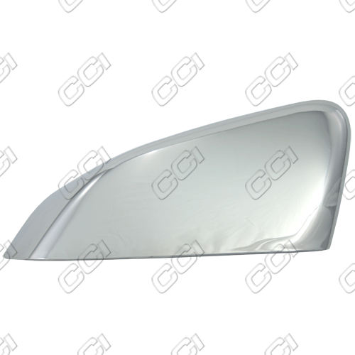 Ford Mustang Gt 2010-2013, Half-Top Chrome Mirror Covers