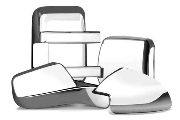 Dodge Durango R/T 2011-2013, Full Chrome Mirror Covers