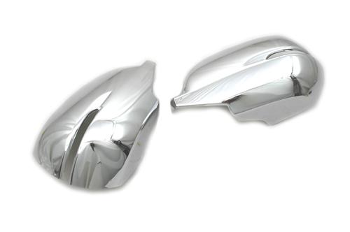 Honda Cr-V  2012-2013, Half Chrome Mirror Covers