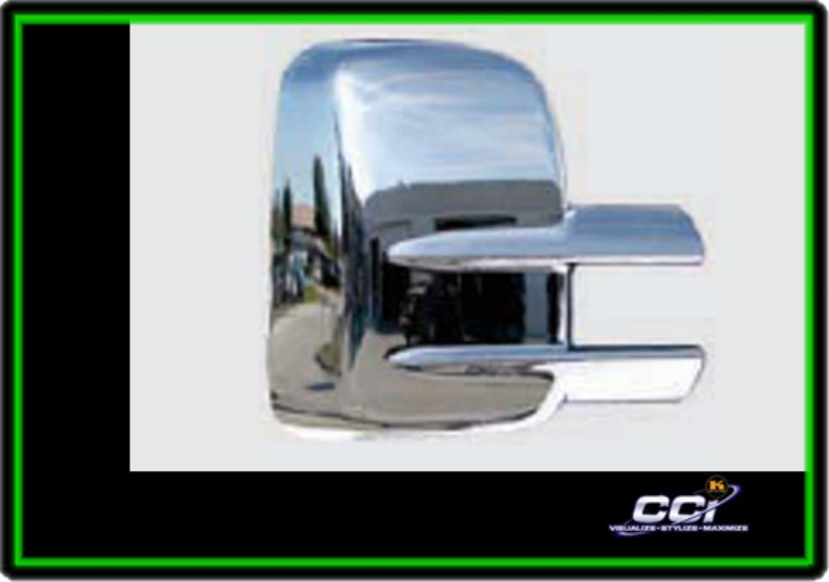 Chevrolet Silverado 2500 2007-2013, Tow Chrome Mirror Covers