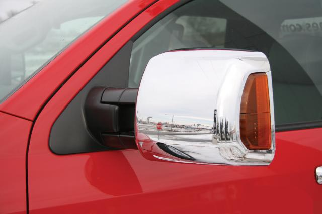 Toyota Tundra  2007-2013, Tow Chrome Mirror Covers