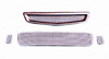 Honda Civic 92-95 3pc Grillcraft Lower Grill kit
