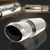 Single Outlet Titanium Tip Muffler