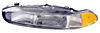 Mitsubishi Galant 97-98 Passenger Side Replacement Headlight and Corner Light Combo