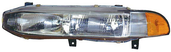 Mitsubishi Galant 94-96 Driver Side Replacement Headlight and Corner Light Combo