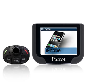 PARROT MKi9200,  Bluetooth hands-free system with a 2.4-inch high-resolution TFT color screen