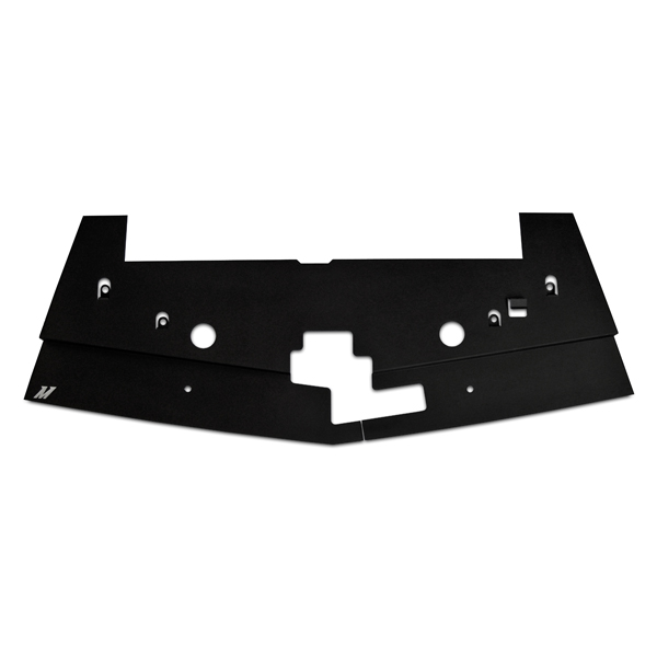 Ford Mustang  2005-2009 Mishimoto Air Diversion Plate - Black Finish