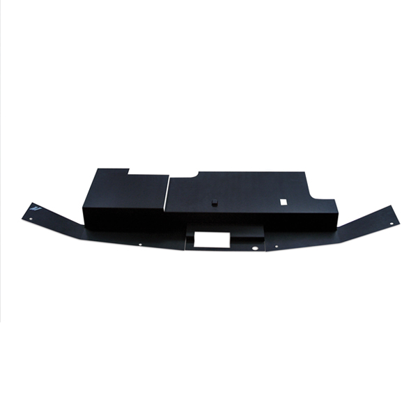 Ford Mustang  1994-1998 Mishimoto Air Diversion Plate - Black Finish