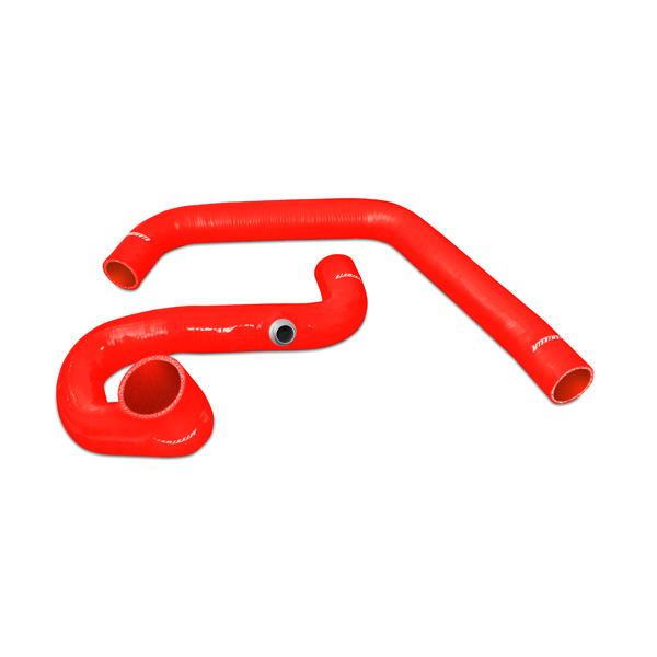 Gmc Full Size Pickup 6.5l Diesel 1996-2000 Mishimoto Silicone Radiator Hose Kit - Red