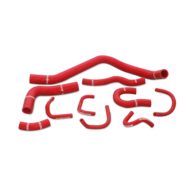Honda Civic  1988-1991 Mishimoto Silicone Radiator Hose Kit - Red