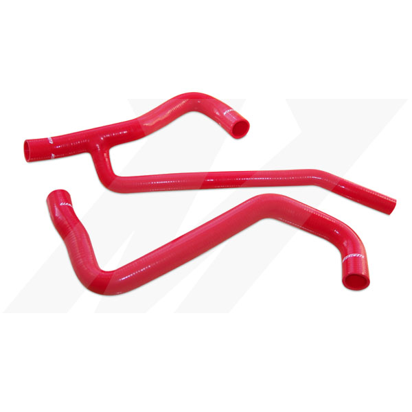 Ford Mustang V8 Gt 2007-2010 Mishimoto Silicone Radiator Hose Kit - Red