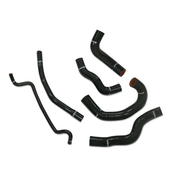 Ford Mustang Supercharged 2005-2010 Mishimoto Silicone Radiator Hose Kit - Black