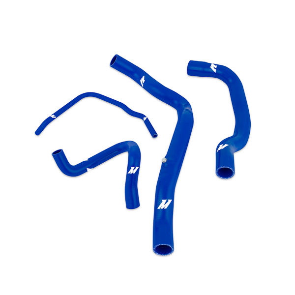 Mini Cooper S (supercharged) 2002-2008 Mishimoto Silicone Radiator Hose Kit - Blue