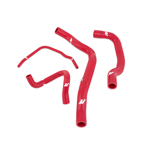 Mini Cooper S (supercharged) 2002-2008 Mishimoto Silicone Radiator Hose Kit - Red