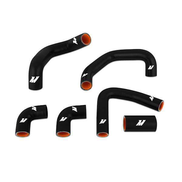 Chevrolet Corvette Zr1 1990-1995 Mishimoto Silicone Radiator Hose Kit - Black