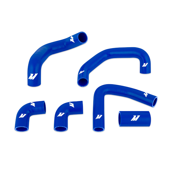 Chevrolet Corvette Zr1 1990-1995 Mishimoto Silicone Radiator Hose Kit - Blue