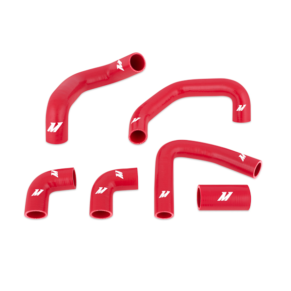 Chevrolet Corvette Zr1 1990-1995 Mishimoto Silicone Radiator Hose Kit - Red