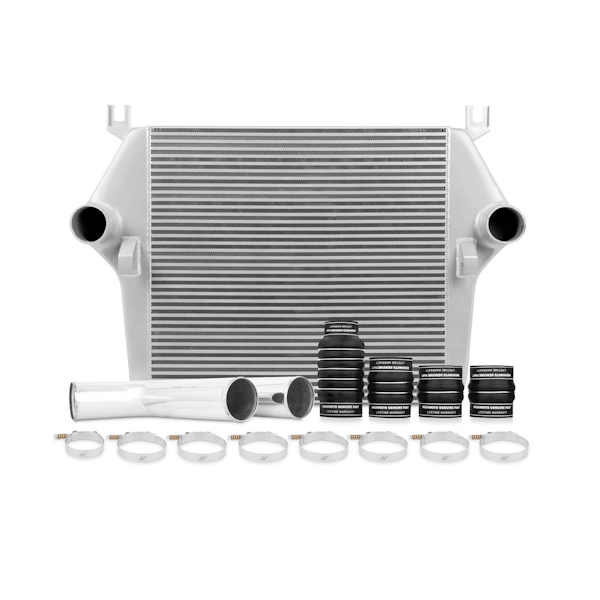 Dodge Ram 6.7l Cummins 2007-2009 Mishimoto Intercooler And Piping Kit - Silver