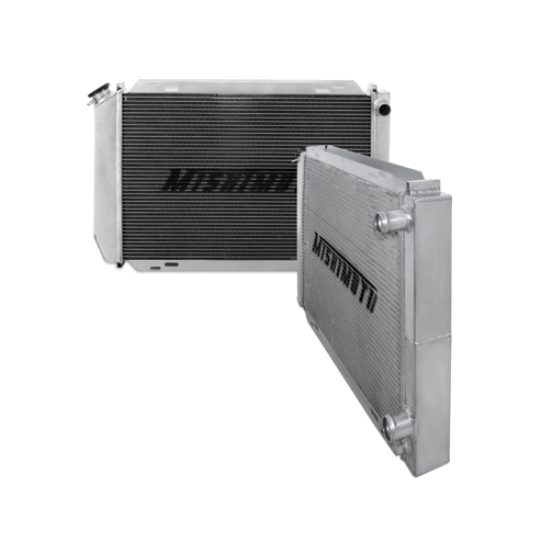 Ford Mustang   1979-1993 Mishimoto Performance Aluminum Radiator Dual Pass Racing Radiator