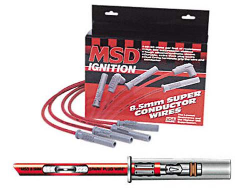 Ford Mustang 96-97 4.6L MSD Super Conductor Wire Set