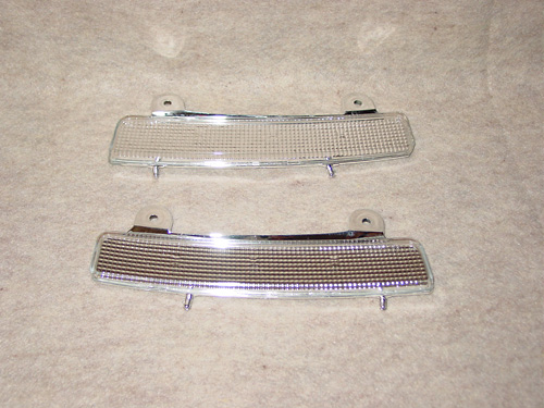 Nissan 350Z 03-05 Clear Side Marker Reflectors