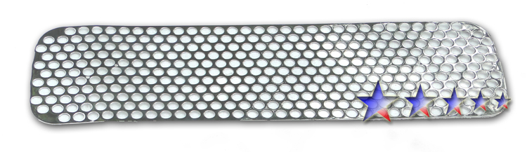 Nissan Titan  2004-2012 Polished Lower Bumper Sheet Grille