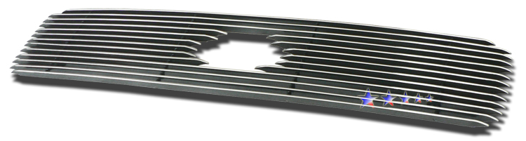 Nissan Pathfinder  2000-2001 Polished Main Upper Aluminum Billet Grille