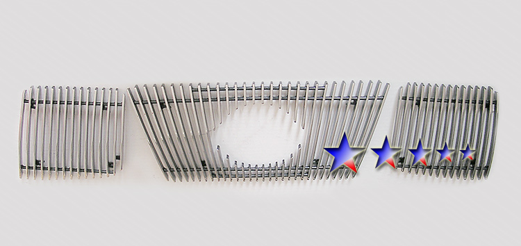 Nissan Armada  2004-2007 Polished Main Upper Aluminum Billet Grille