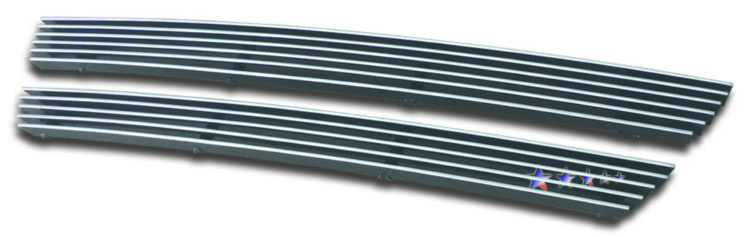 Nissan Xterra  2002-2004 Polished Main Upper Aluminum Billet Grille