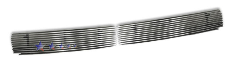 Nissan Maxima Se 2001-2003 Polished Lower Bumper Aluminum Billet Grille