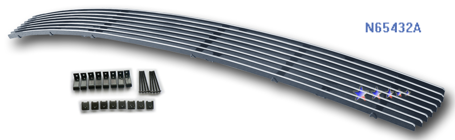 Nissan Quest  2004-2006 Polished Lower Bumper Aluminum Billet Grille