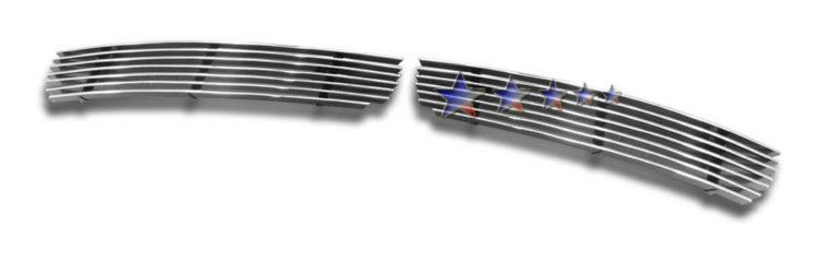 Infiniti G35  2003-2005 Polished Lower Bumper Stainless Steel Billet Grille