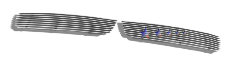 Infiniti G35  2005-2006 Polished Lower Bumper Aluminum Billet Grille