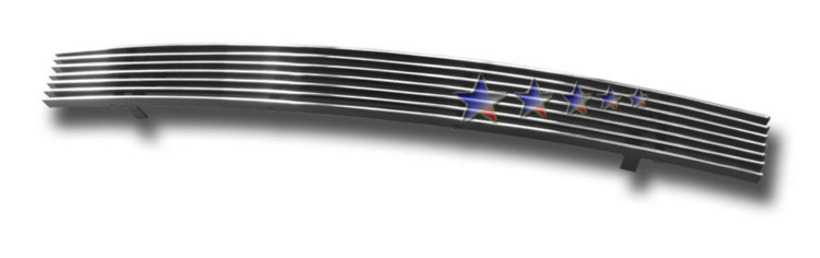 Infiniti Fx35  2003-2005 Polished Lower Bumper Aluminum Billet Grille