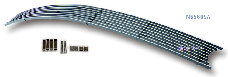 Infiniti M35  2005-2007 Polished Lower Bumper Aluminum Billet Grille