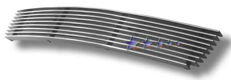 Nissan Frontier  2005-2011 Polished Lower Bumper Aluminum Billet Grille