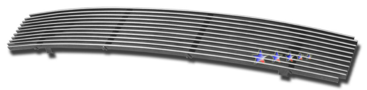 Nissan Maxima  2007-2008 Polished Lower Bumper Stainless Steel Billet Grille