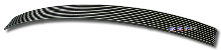 Nissan Altima  2007-2009 Black Powder Coated Lower Bumper Black Aluminum Billet Grille