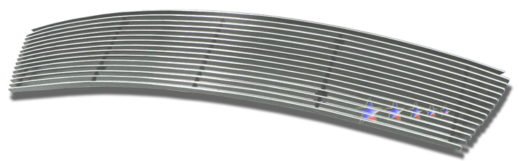 Nissan Versa  2007-2011 Polished Lower Bumper Aluminum Billet Grille