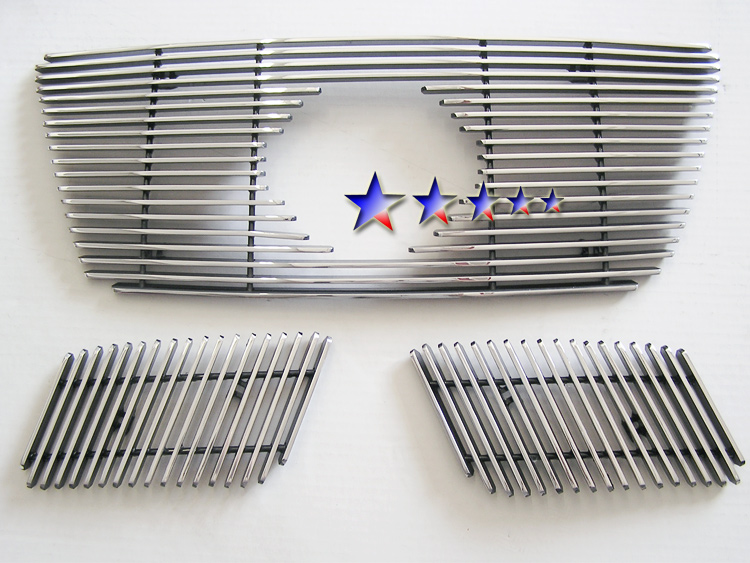 Nissan Pathfinder  2008-2012 Polished Main Upper Aluminum Billet Grille