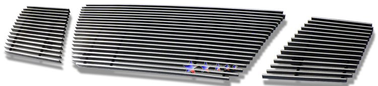 Nissan Armada  2008-2012 Polished Main Upper Aluminum Billet Grille