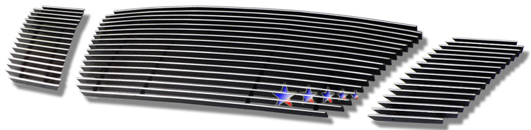 2008-2012 Nissan Pathfinder  Polished Aluminum Billet Grille - Main Upper
